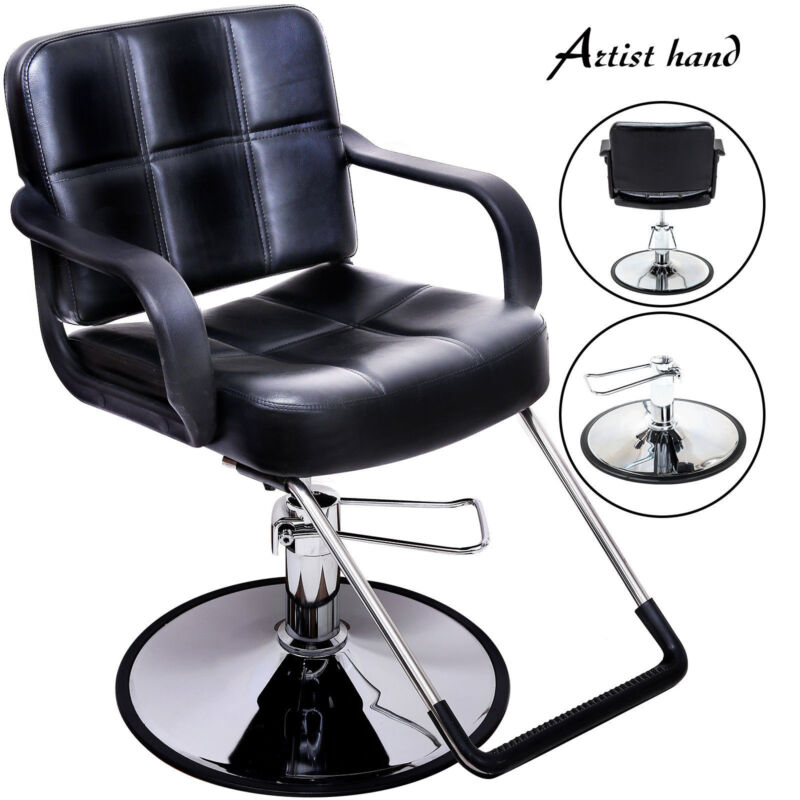 Hydraulic Barber Chair Styling Salon Work Station Beauty Salon Spa Equipment