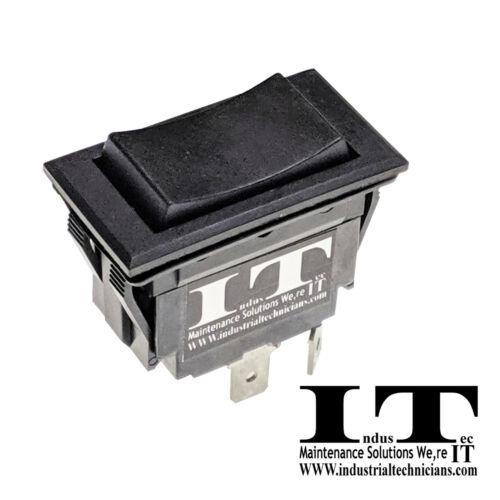 IndusTec DC Motor Polarity Reversing - 20A Rocker Switch Control Momentary 12v