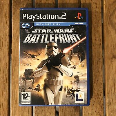 Star Wars: Battlefront (Sony PlayStation 2, 2004) Good Condition