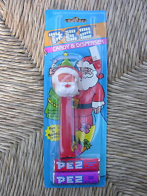Santa Claus Pez Dispenser w/ Candy Vtg. '85 Christmas Collectible Toy NEW IN PKG