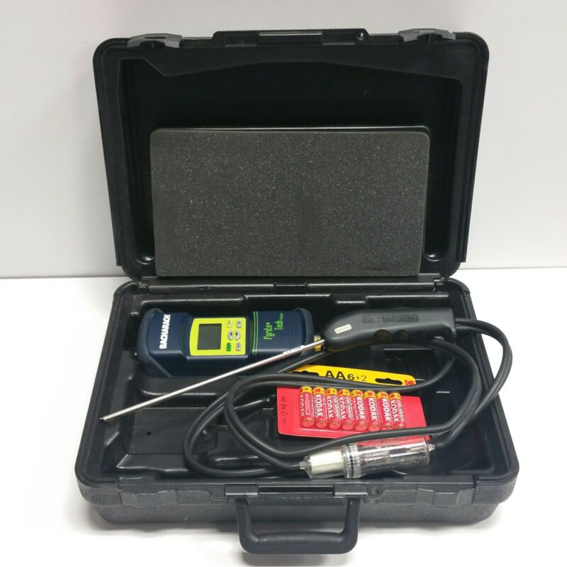 BARELY USED - Bacharach Fyrite Tech Combustion Gas Analyzer Instrument 24-7236