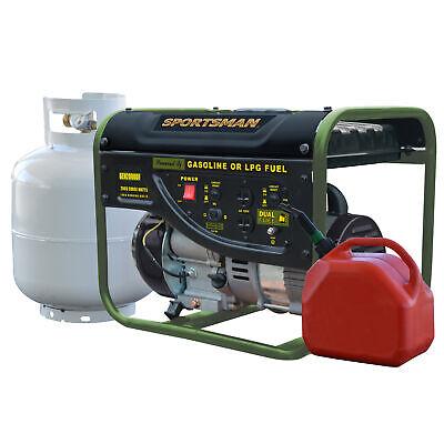 Sportsman GEN2000DF 2000 Watt Dual Fuel Generator - Runs Off Gasoline or Prop...