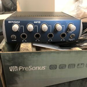 PreSonus HP4 4-Channel Compact Headphone Amplifier