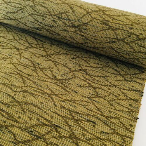 Rice Field Wool Bolt BY THE YARD UnUsed Japanese Kimono Fabric High Quality BW44