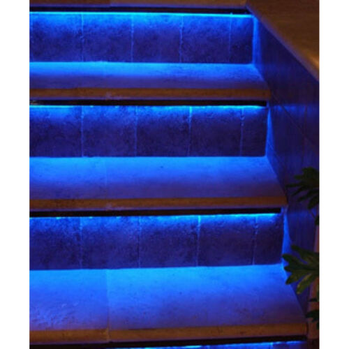RGB LED Walkway Hallway Stairway Runway Stairs Patio Deck Yard Steps Lights Kit