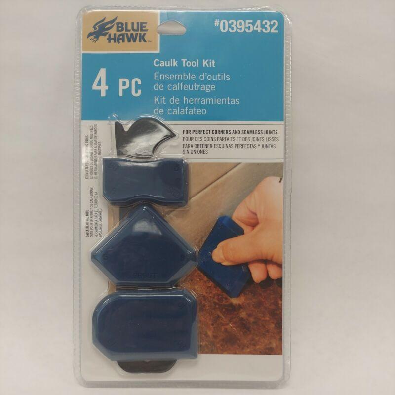 Blue Hawk Caulk Tool Kit 4-piece #0395432
