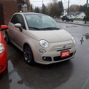 2012 FIAT 500 Sport Sport safety + 3month warranty* included