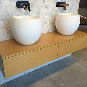 Stone basin sinks - Wall mounted vanities - tapware Gold Coast Burleigh Heads Gold Coast South Preview