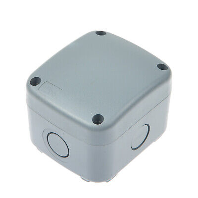 Weatherproof Plastic Grey Junction Box Electrical Enclosure Project Case Ip66