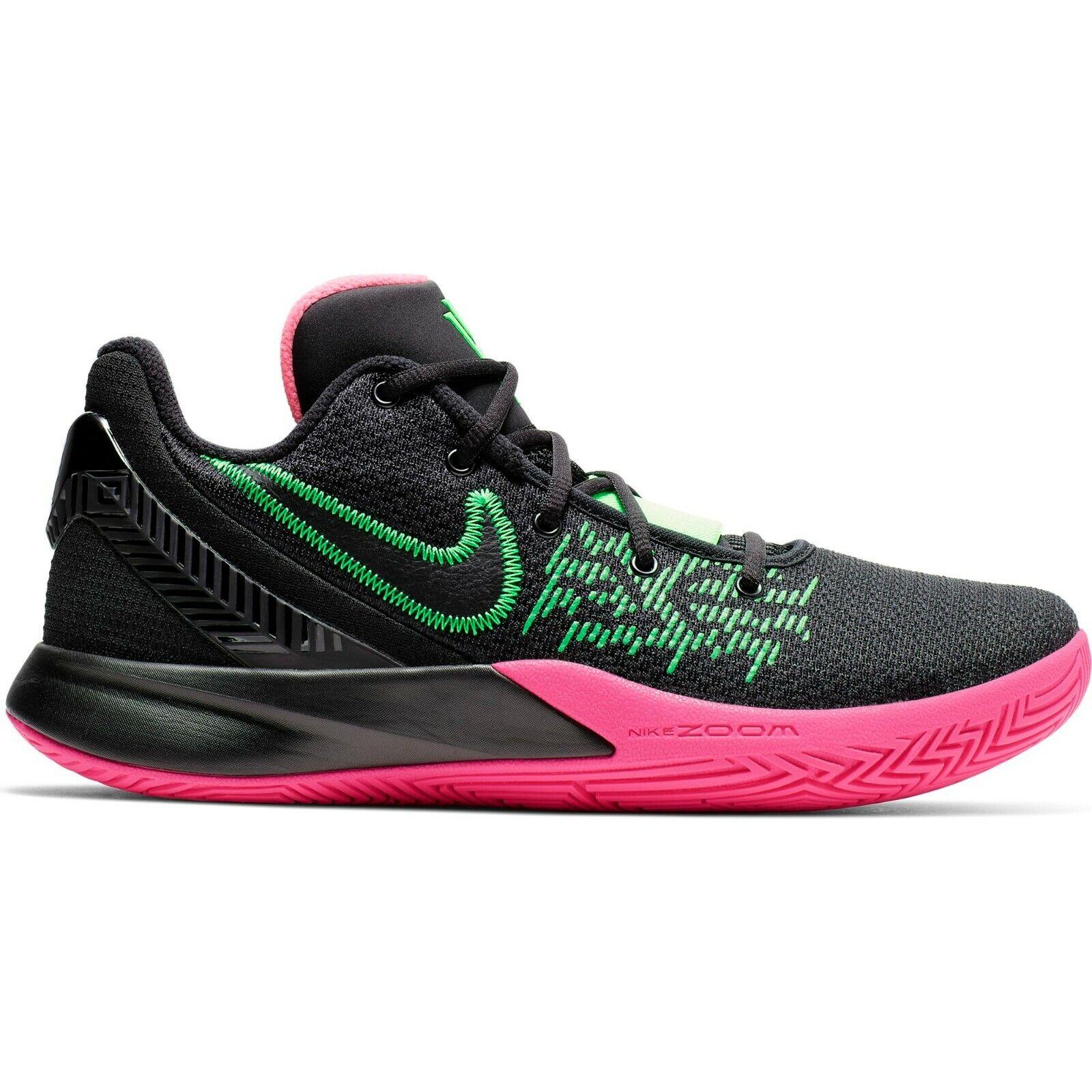 NIKE KYRIE FLY TRAP 2   - Black/ Hyper Pink Green - MEN SIZE