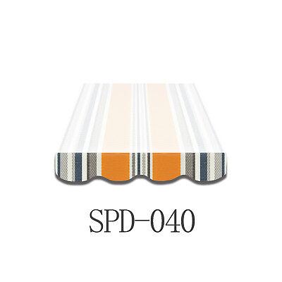 Volant Markisen Markisenbespannung Ersatzstoff 3 m Neu NUR VOLANT SPD040