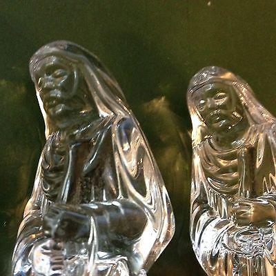Nachtmann Bleikristall Figuren ~ 3 Stück