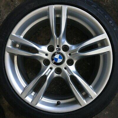 "GENUINE BMW F30 F31 F32 F33 F36 18"" STYLE 400M M SPORT FRONT ALLOY WHEEL 7845880"