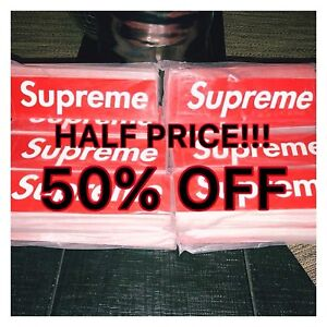 Many supreme stickers, authentic! Only $2 each 50% Off