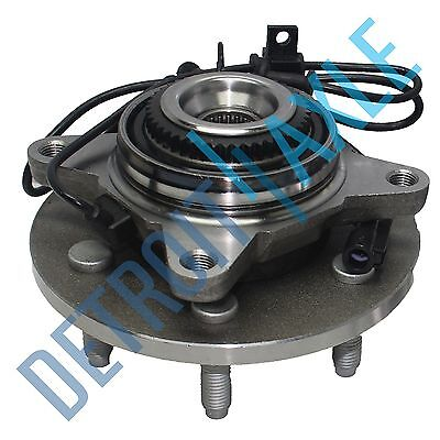 Front Wheel Bearing and Hub For 2009 2010 Ford F-150 4x4 4WD 4.2L 4.6L 5.4L