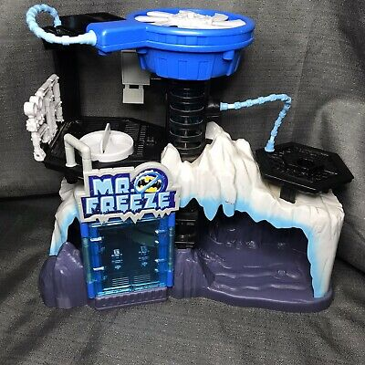 Fisher Price Imaginext Batman Mr. Freeze playset Lair Headquarters