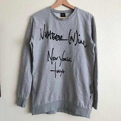 Number (N)ine Takahiro Miyashita Tokyo Sweatshirt Sz. Medium M Vintage Soloist