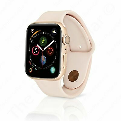 Apple Watch Series 5 40 mm Gold Aluminum Case with Pink Sand Sport Band (GPS)