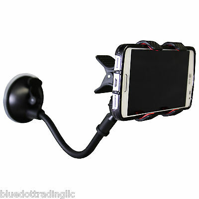 360 Car Holder Windshield Mount Bracket For Mobile Cell Phone Gps Iphone Samsung