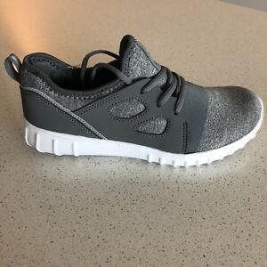 Grey Workout Sneakers