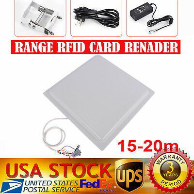 EMX CR-2000 12V DC Wiegand RFID Waterproof Card Reader Metal Keypad Backlit Keys