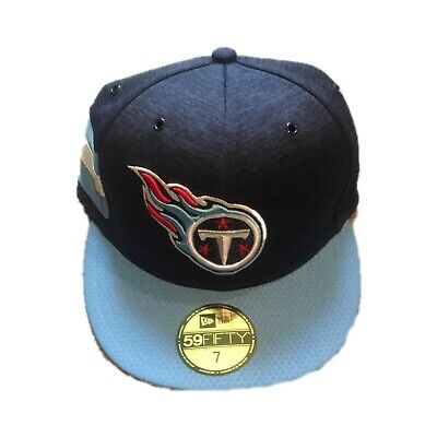 NWT New Tennessee Titans New Era On Field Fitted Hat Cap Size 7 1/8