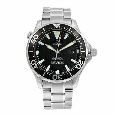 Omega Seamaster Divers 300M Black Dial Steel Automatic Mens Watch 2254.50.00