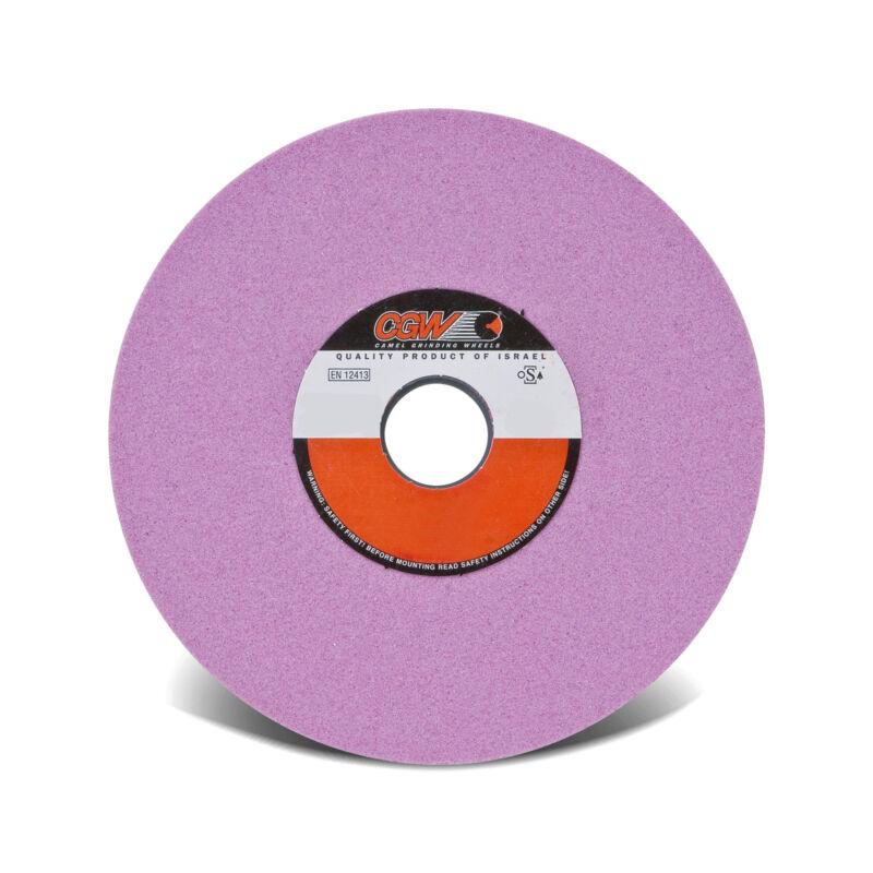 "7""x3/4""x1-1/4"" 46 Grit Pink Alum/Oxide Type 5 Grinding Wheel PA46-I8-V #58013"
