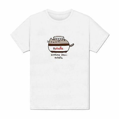 T-shirt Homme - Idée de costume chat nutella parodie chocolat dessin smiley lol