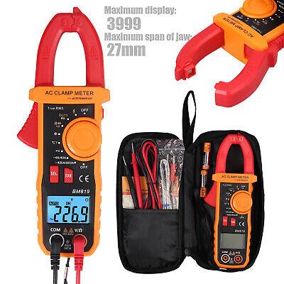 Clamp Digital Multimeter Amp Meter Ohm Acdc Current Voltage Volt Tester Probe