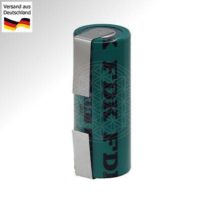 Ersatz Akku für Zahnbürste Braun Oral-B Type 3738 2150mAh 42x17 mm Ni-MH Battery ()