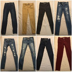 Jegging and jeans
