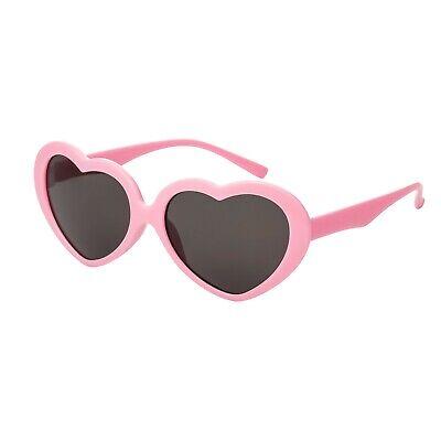 Rosa Herz Kinder Sonnenbrille Uv400 Klassisch Mädchen Lolita Mode Brille