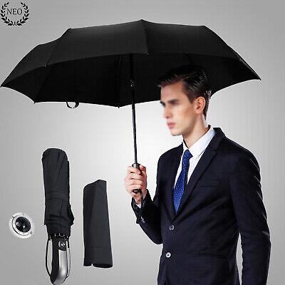 Paraguas Automático Anti UV Lluvia Viento 10 Costilla Plegable navidad regalo