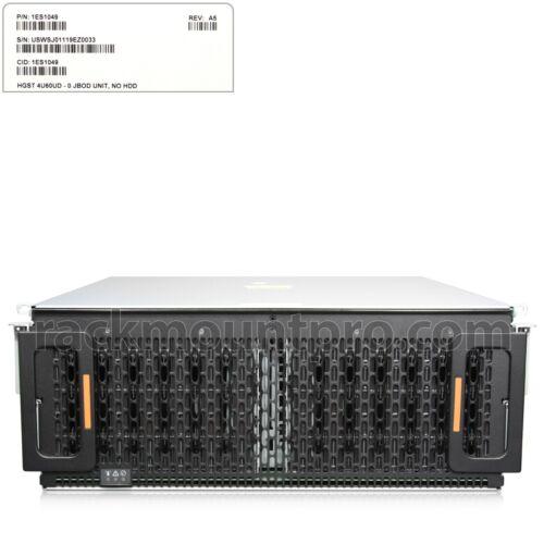 """HGST 1ES1049 4U 60Bays G3 28"""" Depth High Density JBOD - NO HDD ( 220V only)"""