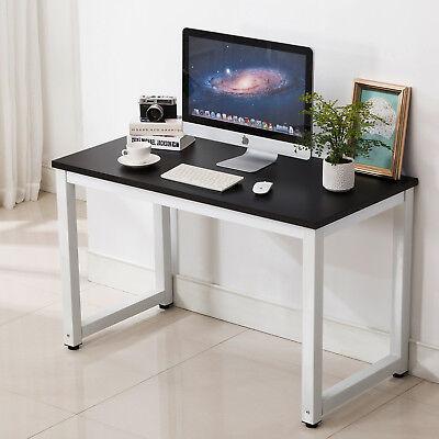 Computer Desk PC Laptop Edibles Workstation Home Office Furniture Board Black