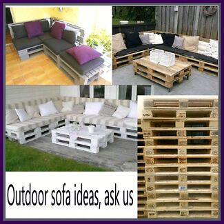 Wooden Bases & planter Boxes