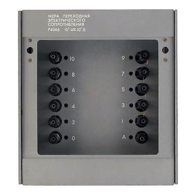 0 1 10 100 1000mohm 1tohm 0.0005 Resistance Standard Box Resistor 4066
