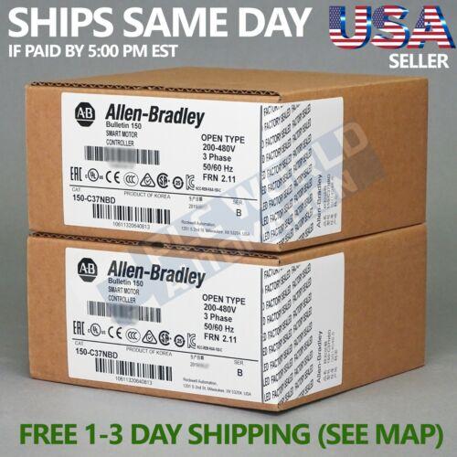 2021 New Sealed Allen Bradley 150-C37NBD Ser B SMC-3 Smart Motor Controller, 37A