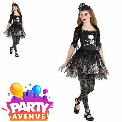 Girls Prima Zomberina Halloween Teens Fancy Dress Costume ()