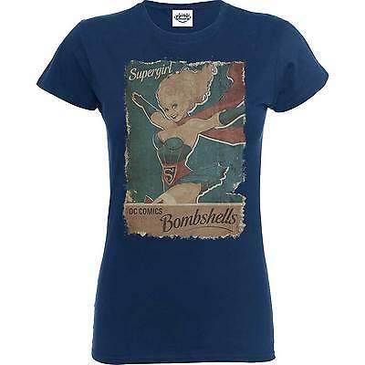 nziert Dc Bombshells Supergirl T-Shirt (Supergirl-t-shirt)