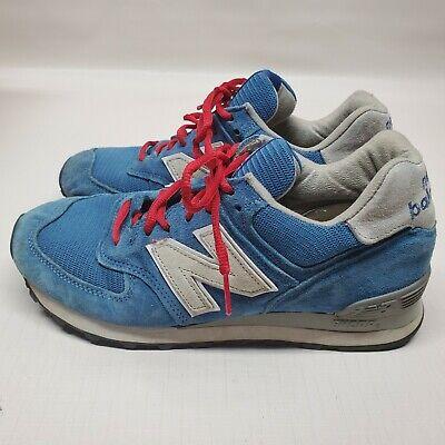Women's New Balance  US574W1  Size 8 Blue Suede Shoes