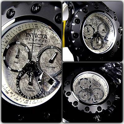 Invicta Reserve Specialty Subaqua Meteorite Black Limited Edition Collection