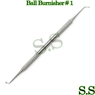 1 Ball Burnisher 1 De Dental Amalgam Instruments
