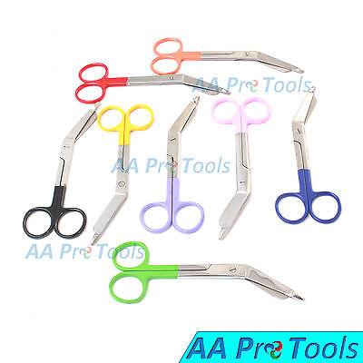 8 Lister Bandage Nurse Scissors Mix Color Handles Surgical Instruments