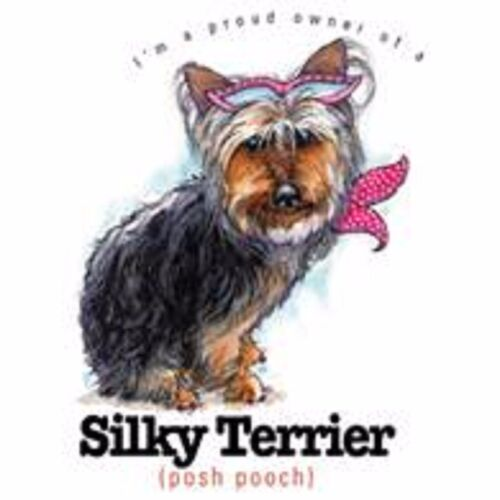 Silky Terrier Funny Tote