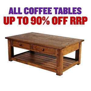 FACTORY SECOND COFFEE TABLES - up to 90% OFF RRP Leumeah Campbelltown Area Preview