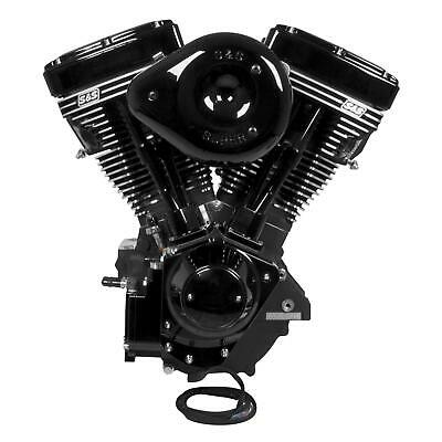 S AND S CYCLE ENGINE V124 BLK ED G CARB 310-0925