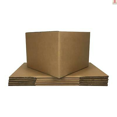 Large Moving Boxes 6 Pack 20x20x15-inches Packing Cardboard Box