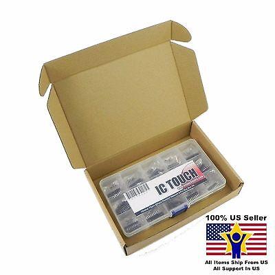 15value 75pcs Resistor Network 9-pin Bus Assortment Box Kit Us Seller Kitb0064